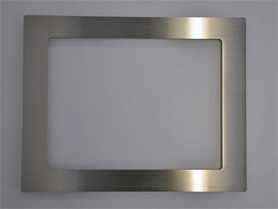 Chromstahlfrontrahmen passend zu 1537L/1590L/15PN2/15PN3