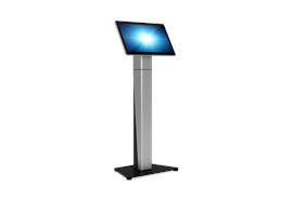 Slim self service floor stand base